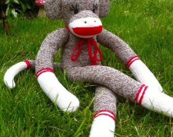 Plain & Simple Sock Monkey