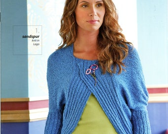 Berroco Knitting & Crochet Pattern Book #317 Lago - 8 designs for Women