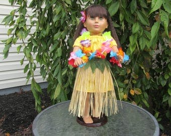 Hula Outfit to fit dolls like American Girl