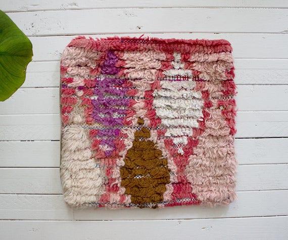 Pink Azilal Pillow No 6