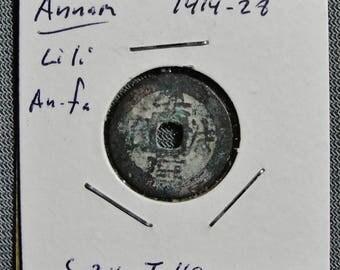 Annam (Vietnam) Li Li An Fa 1414-26 AD, Cash Coin (d)