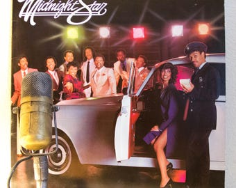 "Midnight Star Vinyl Record LP 1980s R&B Electro Soul Funk Pop Disco Club Dance Party ""No Parking On The Dance Floor"" (1983 Solar Records)"