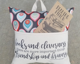 Reading Pillow-Potter, Hermione Books and Cleverness... - Book Pillow, Travel Pillow