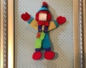 Reserved Listing for Marcella Emard!  Gymbo The Clown Character Clip!