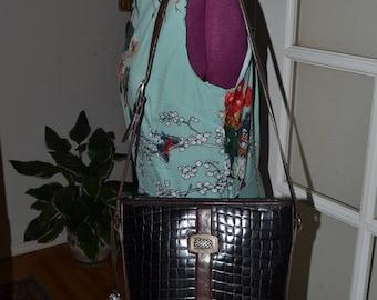 On Sale Vintage Leather Handbag~Brahmin~ Brahmin Bag~ Made in the USA~