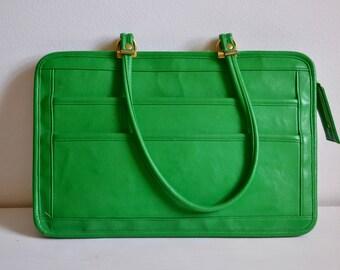Bright Green Vintage Handbag