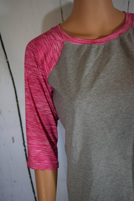 Raglan T-Shirt (custom XXS to 3XL) 3/4 Sleeve (Free Monogramming)