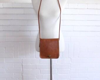 Vintage Coach Bag // Crossbody Bag British Tan Pre 9620 NYC // Compact Pouch Purse