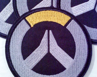 Overwatch themed Iron on/Sew on Patch