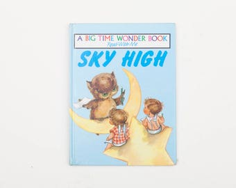 Sky High, Written and Illustrated by Frances Wosmek - Vintage Book, c1980s