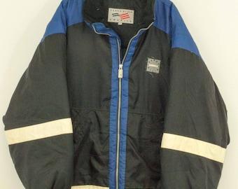 90s Vintage Perry Ellis Puffer Jacket Coat Size: XL