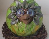 Fangorn - Holiday Owl Ornament