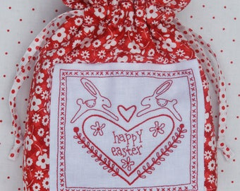 Rosalie Dekker -- Happy Easter Gift Bag-- Creative Card-- Pattern only -- By Rosalie Dekker
