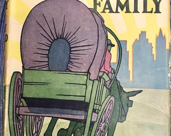 The Chicken-Wagon Family by Barry Benefield, Grosset & Dunlap Publishers, 1925