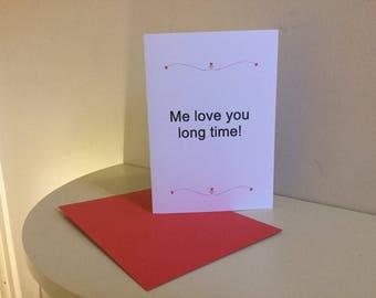 Funny Valentine Card