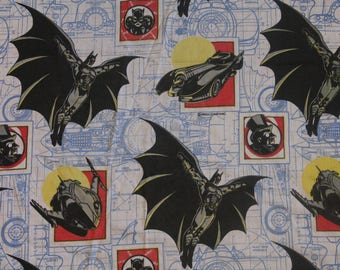 vintage 1992 batman fitted twin bedsheet bedding linens