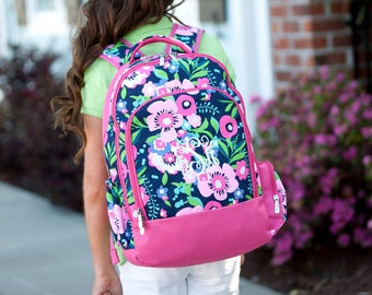 Monogram Backpack, Personalized Backpack, Personalized Kids Bookbags, Diaper Bag Backpack, Back to School, Girl Backpack, School Bag