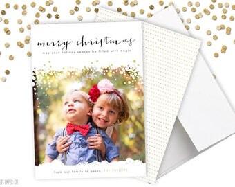 MAGICAL CHRISTMAS. Christmas Card. Christmas cards. Christmas Card Printable. Christmas Cards Photo. Religious Christmas Cards. Photo Cards.