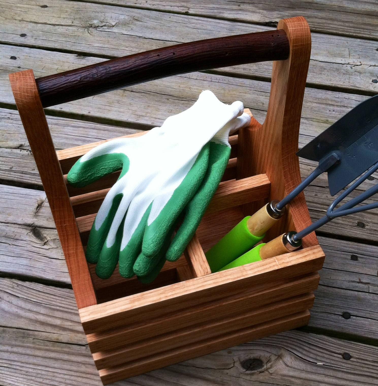 Gardening tool carrier garden tool kitchen utensil storage for Small garden tool carrier