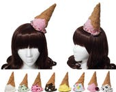 Upside Down Melted Ice Cream Cone Hat - 20+ Flavors Available! - Made to Order