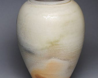 Vase Wood Fired Pottery G89