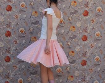Skirt Corolla floral pink/orange
