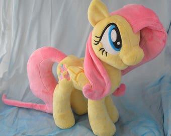 "My Little Pony Friendship is Magic Fluttershy 12"" Minky Plush Toy"