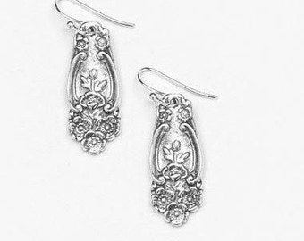 "Spoon Earrings: ""Lady Helen"" by Silver Spoon Jewelry"