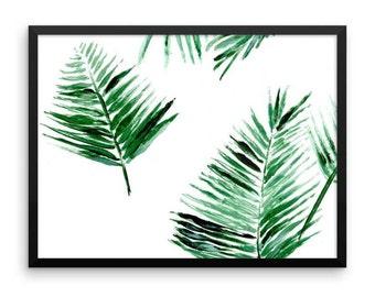 Palm Leaf Printable Wall Art