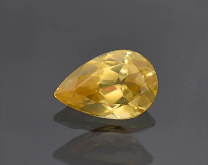 Excellent Yellow Scheelite Gemstone from China 4.88 cts.