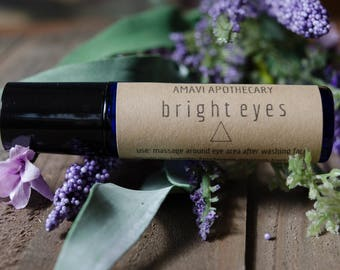 Eye Serum / Bright Eyes/ Essential Oils / Essential Oil Blend / Roller Bottle Blend / Anti-Aging Essential Oils / Skin Care / Wrinkle Blend