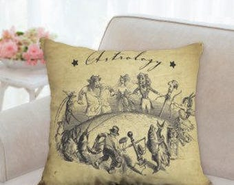 Astrology Designer Pillow
