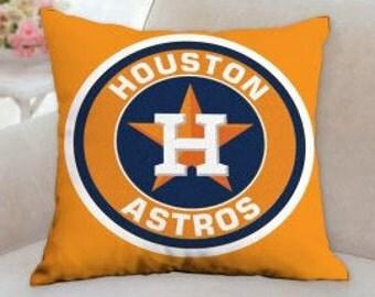 Houston Astros Baseball Pillow ( Three different Styles)