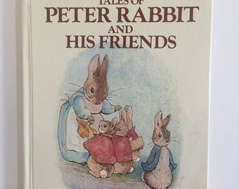 Vintage Beatrix Potter TalesOf Peter Rabbit and His Friends, Hardcover Book