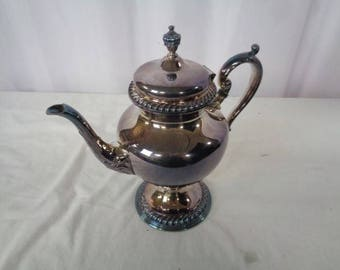 """SILVER PLATED TEAPOT by Wilcox International Silver Co. - Beautiful Condition - 10.5"""" Tall"""