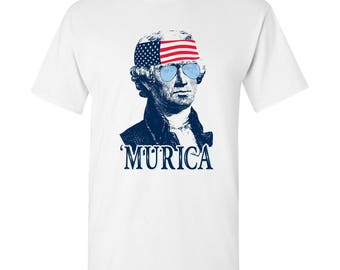 President Thomas Jefferson MURICA T-Shirt