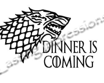 Game of Thrones - Dinner is Coming Instant Pot or Crock Pot Vinyl
