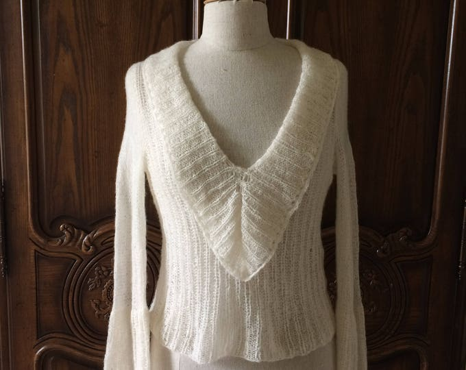 Cashmere Sweater - Hand-knit in Italy - Filature de Crosa