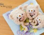 Tiny sizes: Teddy fluffy hat