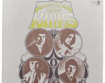 Vintage 70s Something Else By The Kinks Album Record Vinyl LP