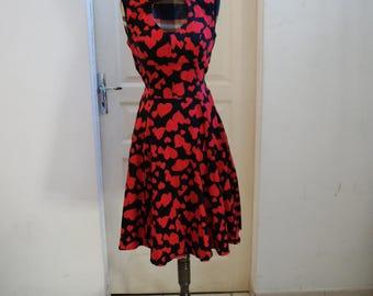 Vintage Hearts & Roses dress