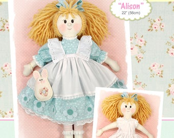 PDF - Alison Rag Doll Pattern