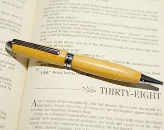 Handmade Pens, Gift for Him, Turned Wood Pen, Mens Gift, Ink Pens, Handcrafted Pens, Wood Turned Pens, Refillable Pen, Ballpoint Pen