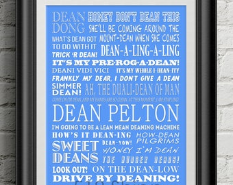 Community - Dean Pelton Puns - Greendale Inspirational Quote Wall Decor Typography Print Motivational Poster