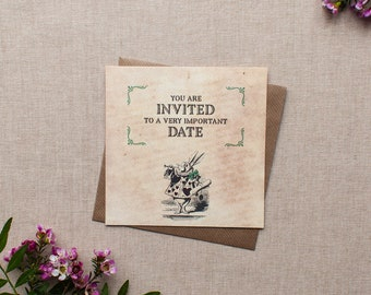 ALICE // Wedding Stationery // Invitation