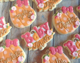Baby Girl Banner cookie cutter