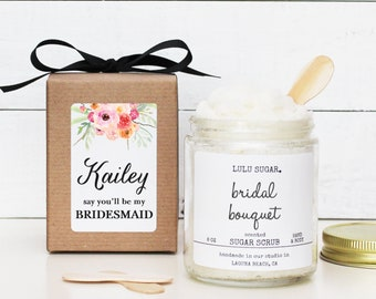 Bridesmaid Proposal Gift   Will you be my Maid of Honor Gift   Bridesmaid Thank You Gift   Maid of Honor Thank You Gift  Bridesmaid Gift Box