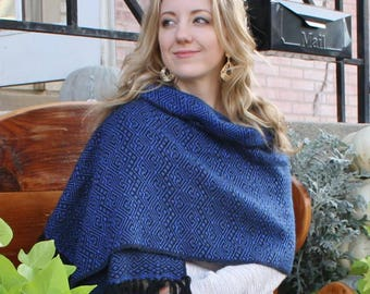 BEST SELLER! Woven Alpaca Wrap Scarf,Bright colored alpaca wrap,unisex alpaca scarf,My Peruvian Treasures,Soft Washable alpaca fiber scarf