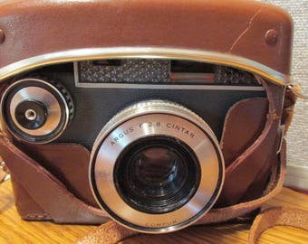 Vintage Argus 35mm Autronic Camera with Case