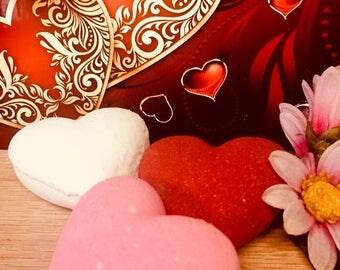 Valentine Heart 2.5 oz Bath Bomb III
